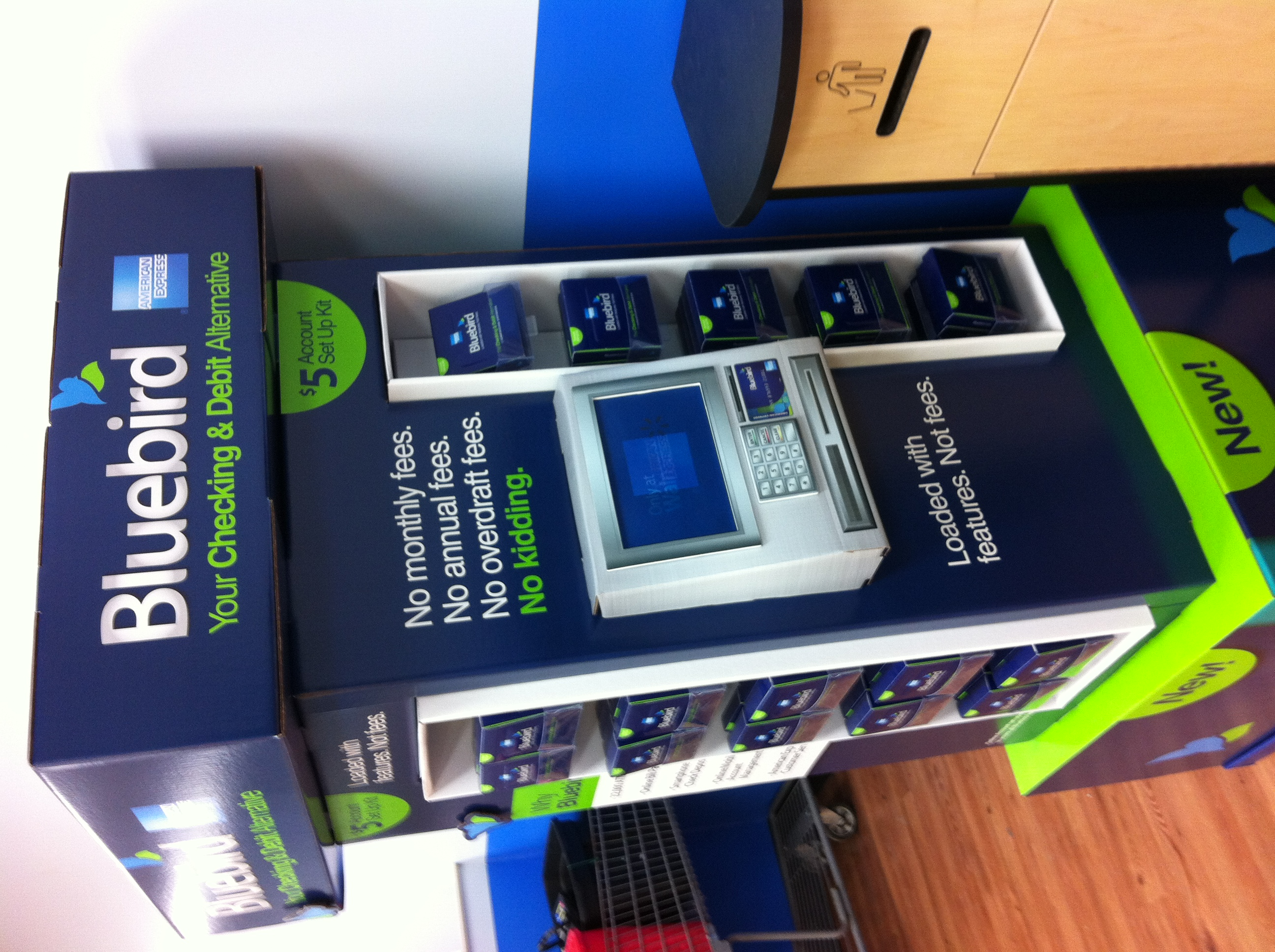 Bluebird Vs Greendot Prepaid Wins Wiring Money From Walmart So If Is Great And Big Why Wont It Be A Success First Because They Will Make Very Little On Not Lose